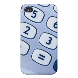 primer de los botones de la calculadora iPhone 4/4S carcasa