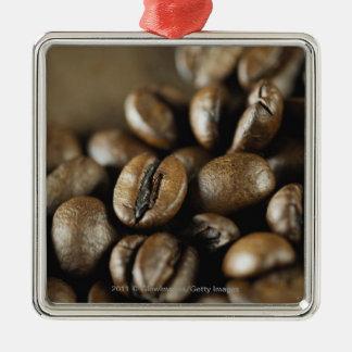 Primer de los granos de café ornato