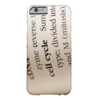 Primer de los términos de la química en funda para iPhone 6 barely there