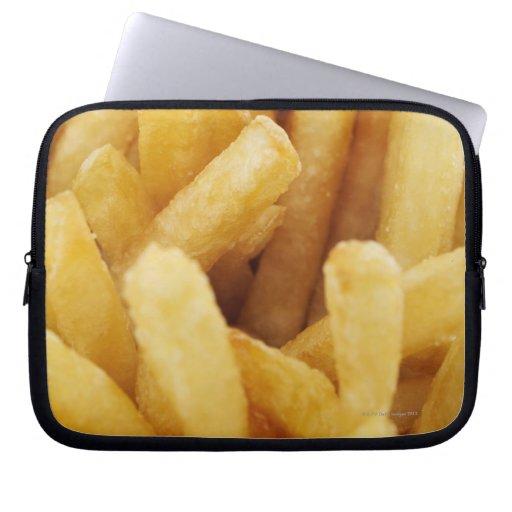 Primer de patatas fritas fundas ordendadores