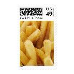 Primer de patatas fritas sello