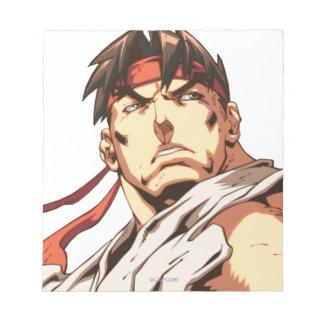 Primer de Ryu Bloc De Notas