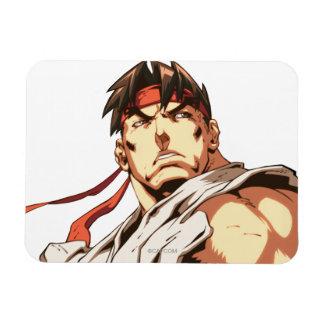 Primer de Ryu Imanes De Vinilo