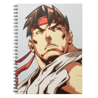 Primer de Ryu Libros De Apuntes Con Espiral