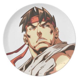 Primer de Ryu Plato De Cena