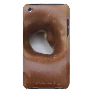 Primer de un buñuelo del chocolate en una placa Case-Mate iPod touch cárcasa