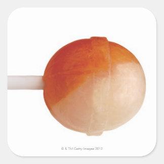 primer de un lollipop pegatinas cuadradases