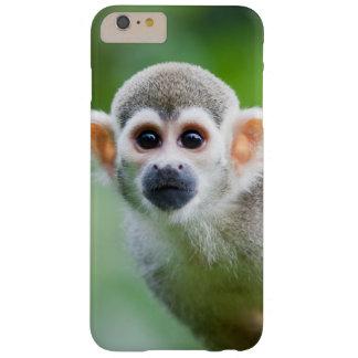 Primer de un mono de ardilla común funda de iPhone 6 plus barely there