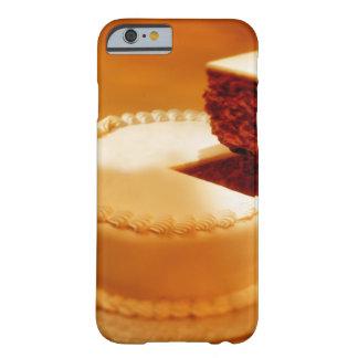 primer de un pedazo del corte de torta que es funda de iPhone 6 barely there