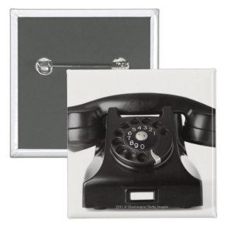 Primer de un teléfono rotatorio pin cuadrado