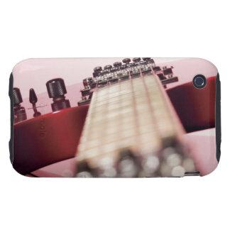 Primer de una guitarra eléctrica carcasa resistente para iPhone