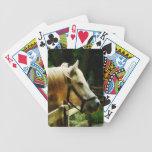Primer del caballo blanco baraja de cartas