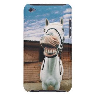 Primer del caballo con la boca abierta Case-Mate iPod touch funda