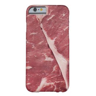 Primer del filete crudo funda de iPhone 6 barely there