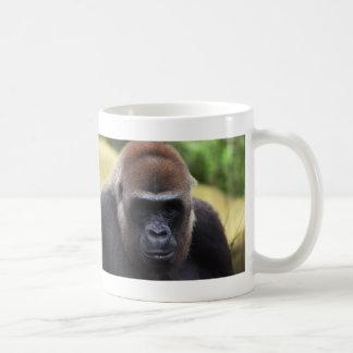 Primer del gorila tazas de café