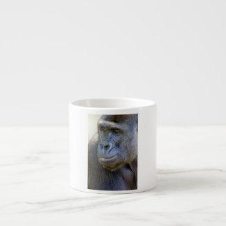 Primer del gorila taza de espresso
