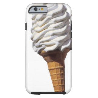 Primer del helado funda resistente iPhone 6