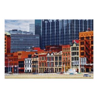 Primer del horizonte del PA de Pittsburgh Perfect Poster