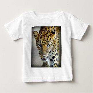Primer del leopardo playera
