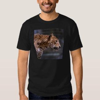 Primer del leopardo playeras