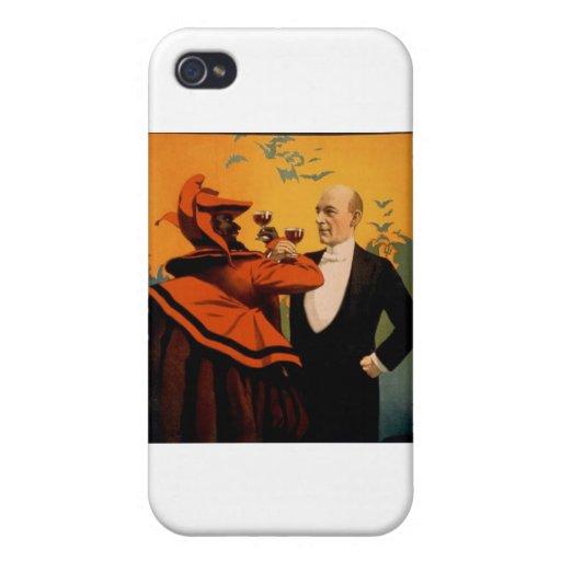 Primer del mago de Harry Kellar iPhone 4/4S Fundas