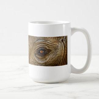 Primer del ojo del elefante taza
