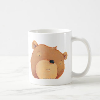 Primer del oso de Brown grande Taza De Café
