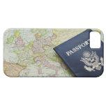 Primer del pasaporte que miente en mapa europeo iPhone 5 fundas