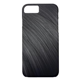 Primer del pelo oscuro funda iPhone 7
