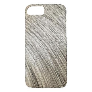 Primer del pelo rubio funda iPhone 7