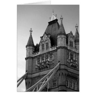 Primer del puente de la torre de Londres Tarjeta De Felicitación