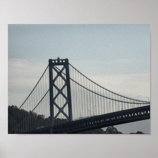 Primer del puente de San Francisco Bay Impresiones
