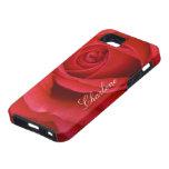 Primer del rosa rojo iPhone 5 Case-Mate protector
