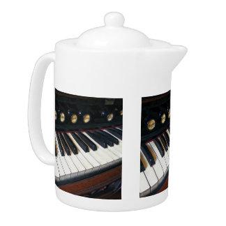 Primer del teclado del órgano