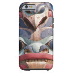 Primer del tótem en Sitka, Alaska, los E.E.U.U. Funda De iPhone 6 Tough