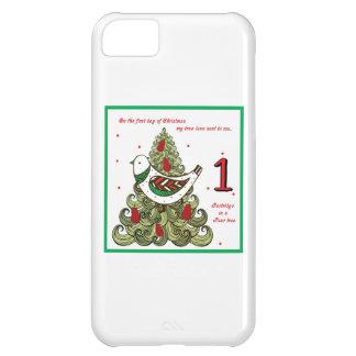 Primer día de navidad funda para iPhone 5C