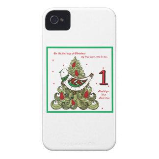 Primer día de navidad iPhone 4 carcasas