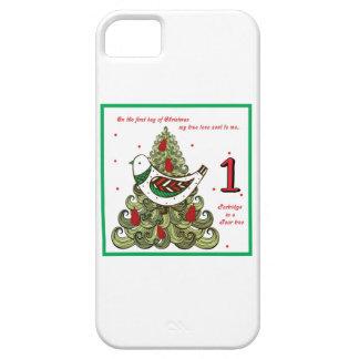 Primer día de navidad iPhone 5 carcasa