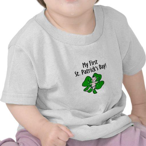 Primer día del St Patricks Camisetas