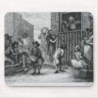 Primer diseño para el músico enfurecido, 1799 tapete de ratones