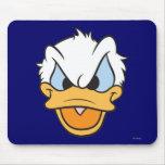 Primer enojado de la cara del pato Donald el | Tapete De Ratones