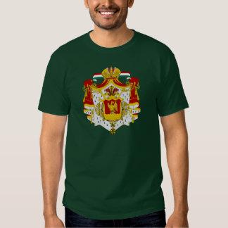 Primer escudo de armas mexicano del imperio poleras