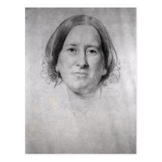 Primer estudio para el retrato de George Eliot Tarjetas Postales