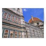 Primer famoso de la iglesia de Doumo en Florencia, Tarjeta