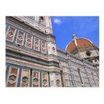 Primer famoso de la iglesia de Doumo en Florencia, Postal