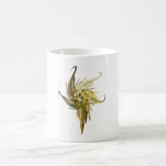 Primer floral taza de café