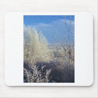 Primer Frost en el valle Alfombrillas De Ratón