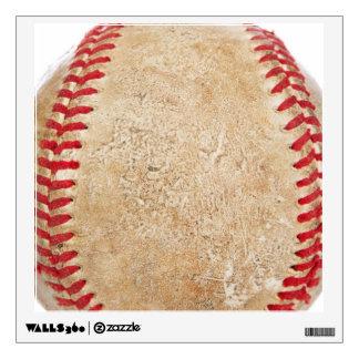 Primer gastado del béisbol vinilo