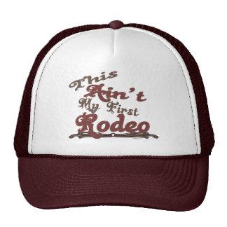 Primer gorra del rodeo