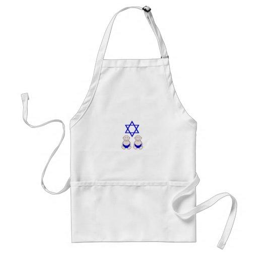 Primer gráfico del Passover de los gemelos Delantal